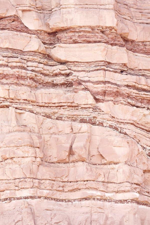 Incidente estructural de la geología foto de archivo libre de regalías