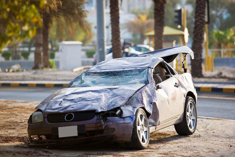 Incidente stradale di lusso fotografia stock libera da diritti