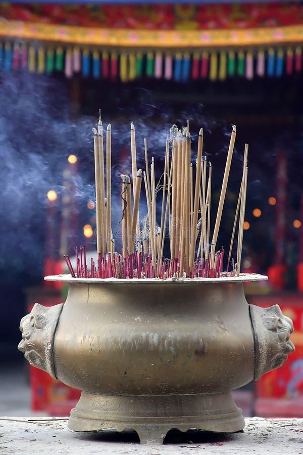 Incienso chino foto de archivo libre de regalías