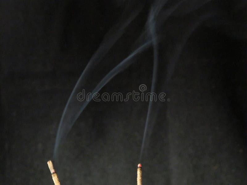 Incienso del humo fotos de archivo libres de regalías