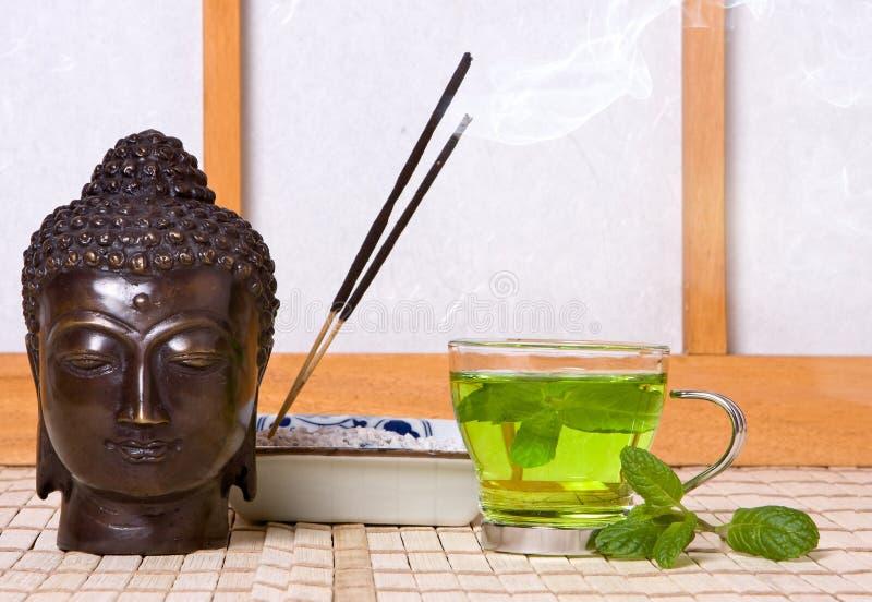 Incienso para buddha fotos de archivo