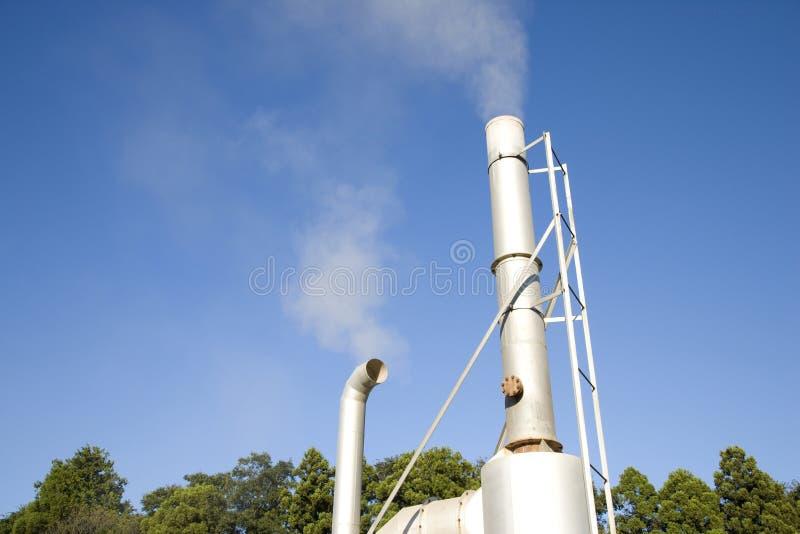Incinerador fotografia de stock