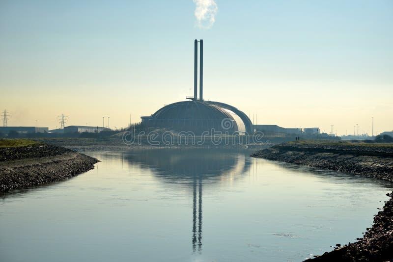 incinerator imagem de stock royalty free