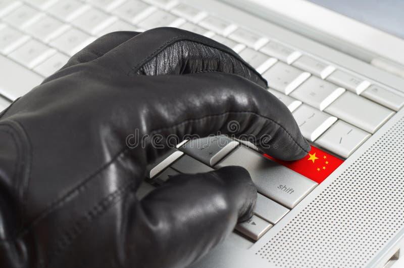 Incisione del concetto della Cina fotografie stock