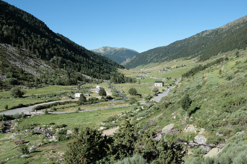 Download Incles valley in Pyrenees stock photo. Image of nature - 23671530