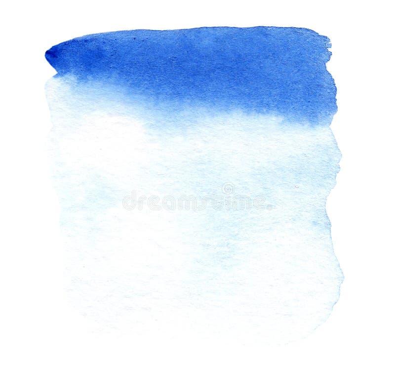 Inclinação azul do fundo da cor para a bandeira, cartão ilustração do vetor