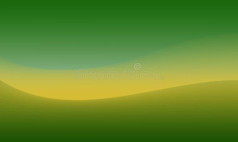 Inclinação verde, amarelo abstrato fotografia de stock