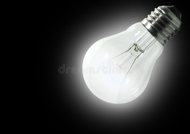 Included  Electric Lamp Stock Images