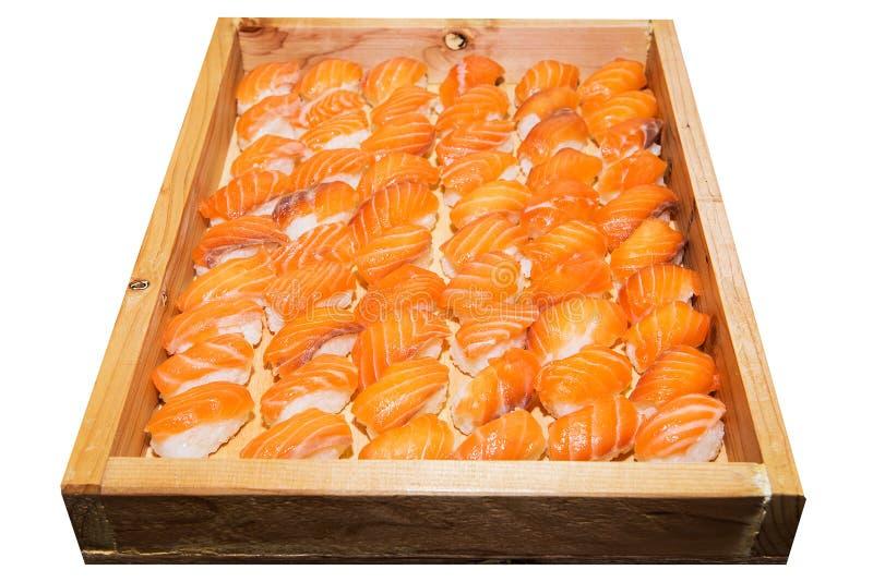 Including sushi stock image