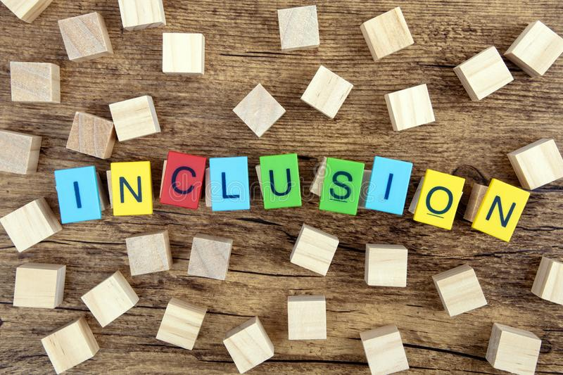 Inclusion royalty free stock image