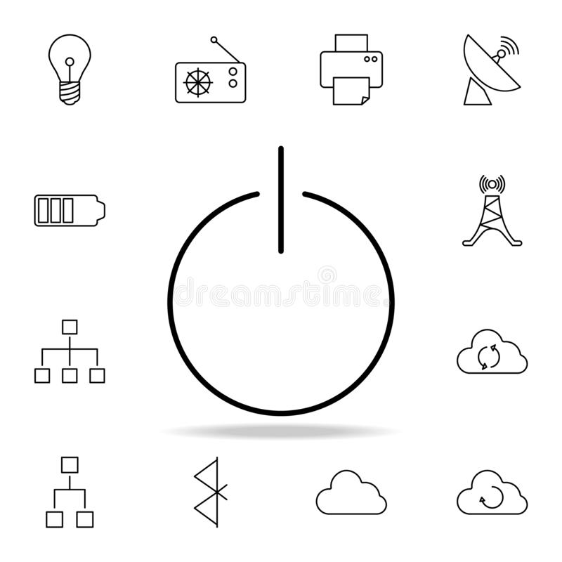 Inclusion mark icon. Detailed set of simple icons. Premium graphic design. One of the collection icons for websites, web design,. Mobile app on white background stock illustration