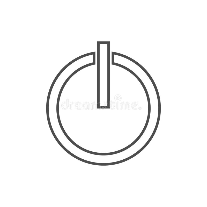 Inclusion mark icon. Element of cyber security for mobile concept and web apps icon. Thin line icon for website design and. Development, app development on royalty free illustration