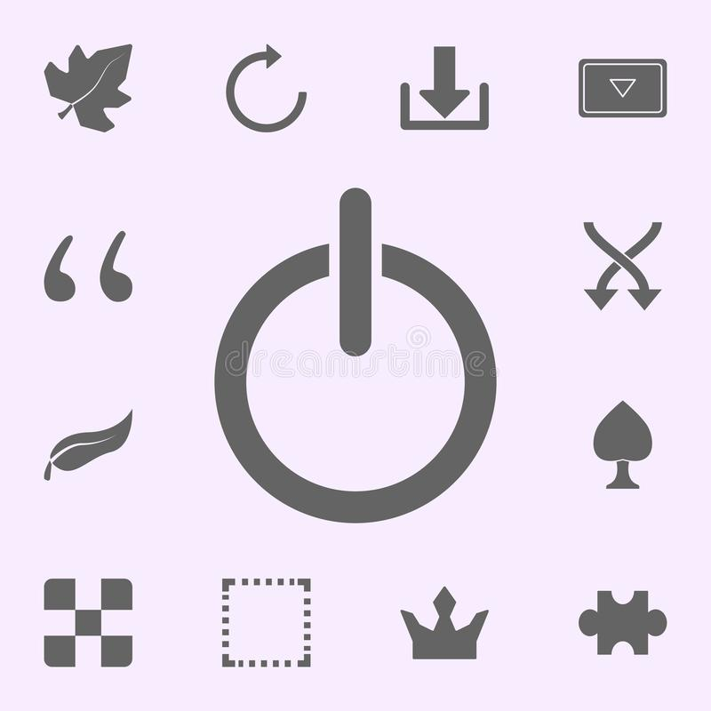 Inclusion mark icon. web icons universal set for web and mobile. On color background vector illustration