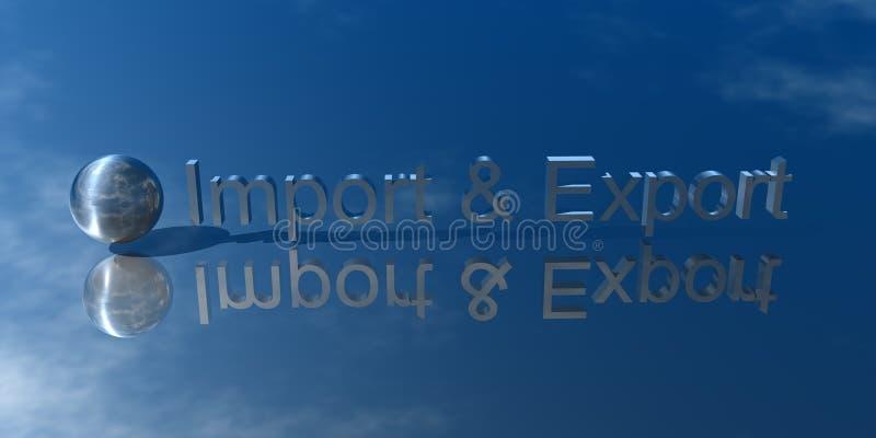 Inclusione ed esportazione royalty illustrazione gratis