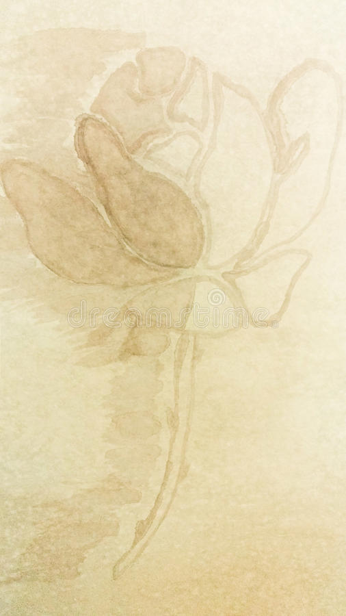 Incluso una Rose tiene su lado oscuro imagen de archivo