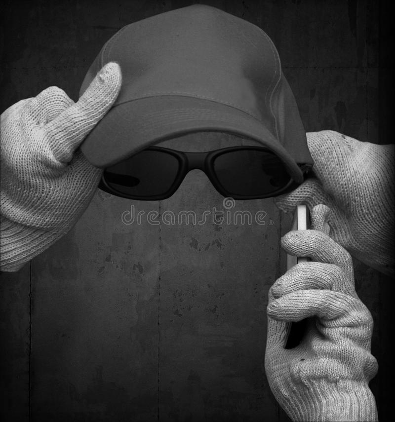 Incognito Personification Concept Royalty Free Stock Image