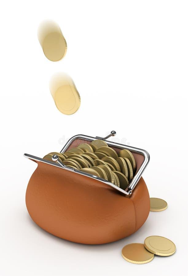 Download Income. stock illustration. Illustration of full, gold - 17906058