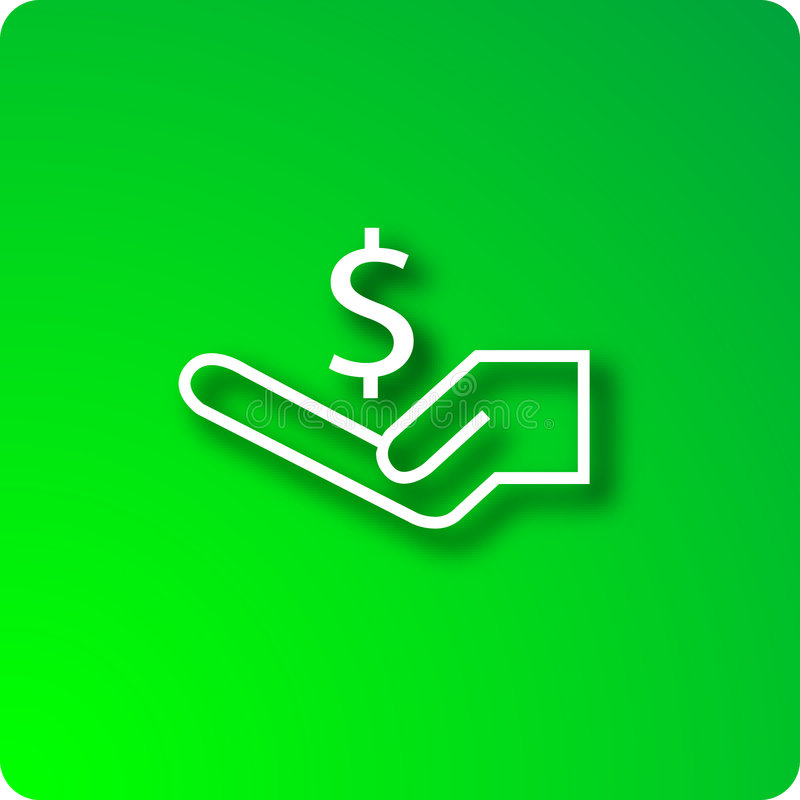 Income stock illustration