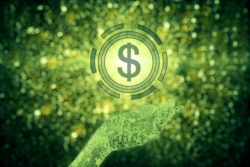 Income concept vector illustration