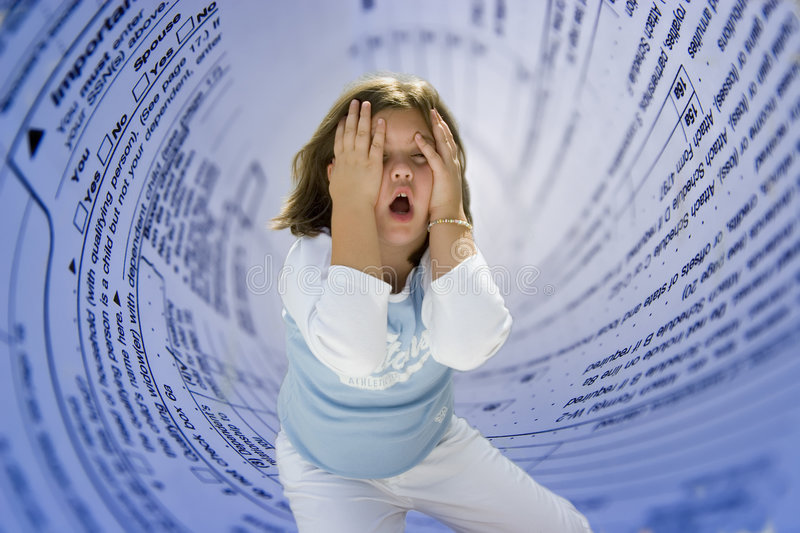 Download Income tax time stock photo. Image of stress, emotion, taxes - 636484