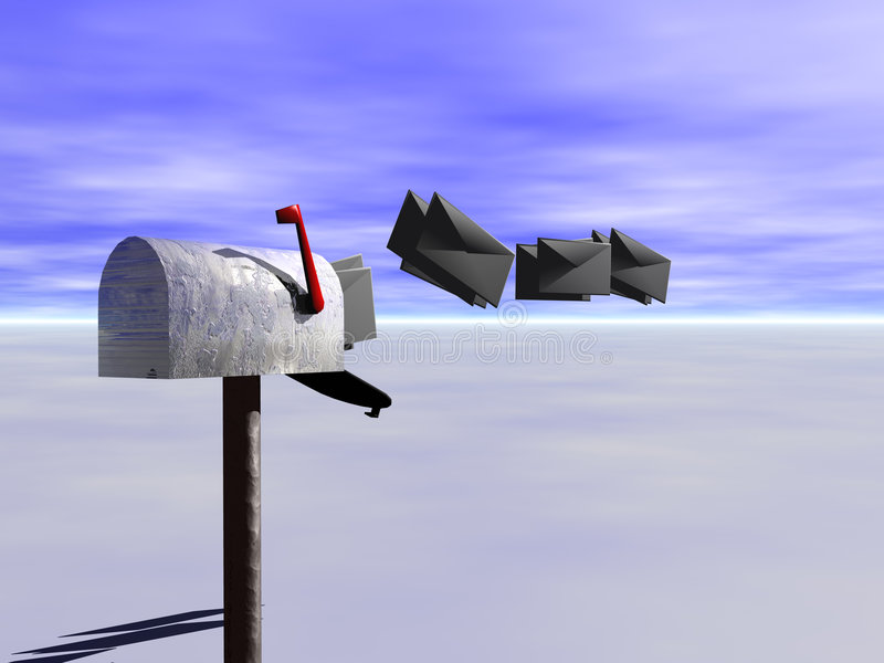 Download Incoming Mail. Royalty Free Stock Photo - Image: 179505