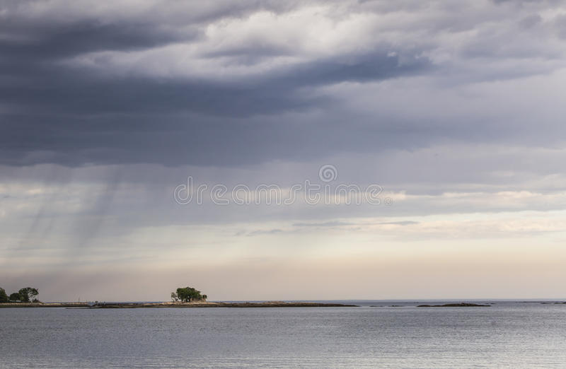 Incoming Rain royalty free stock images
