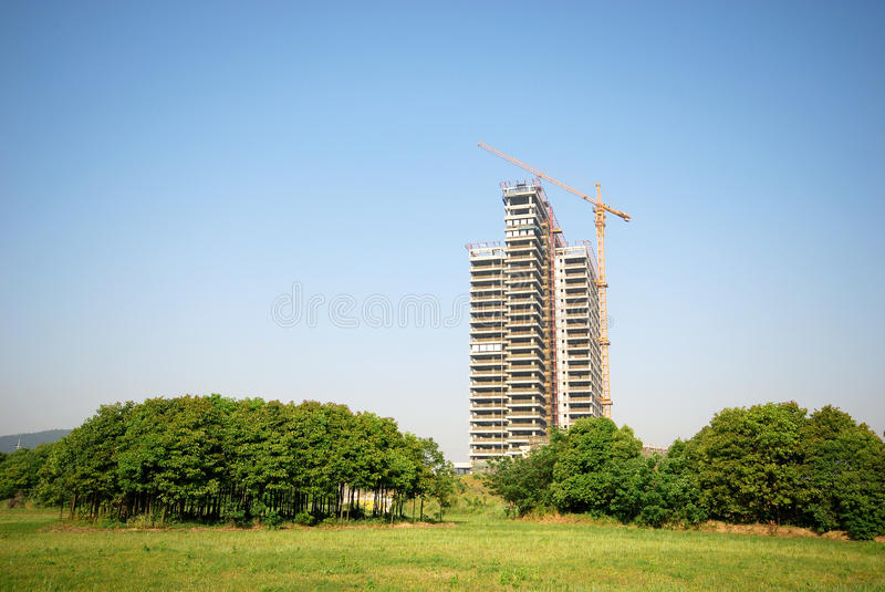 Incomplete Building Royalty Free Stock Images