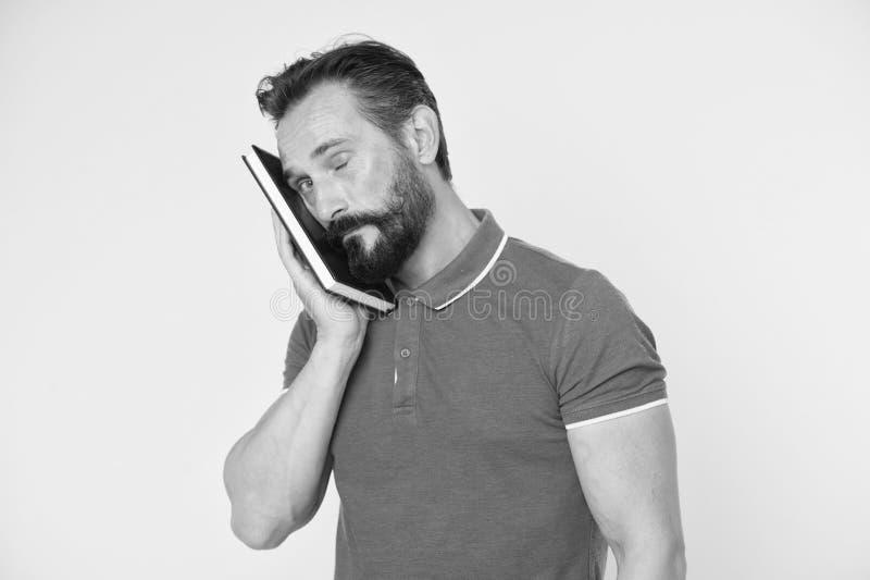 Inconformista cauc?sico brutal con el bigote Inconformista maduro con la barba Hombre barbudo Cuidado masculino del peluquero hom foto de archivo