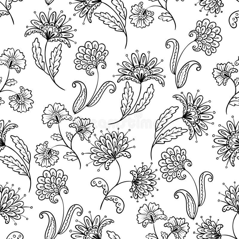 Inconsútil floral libre illustration