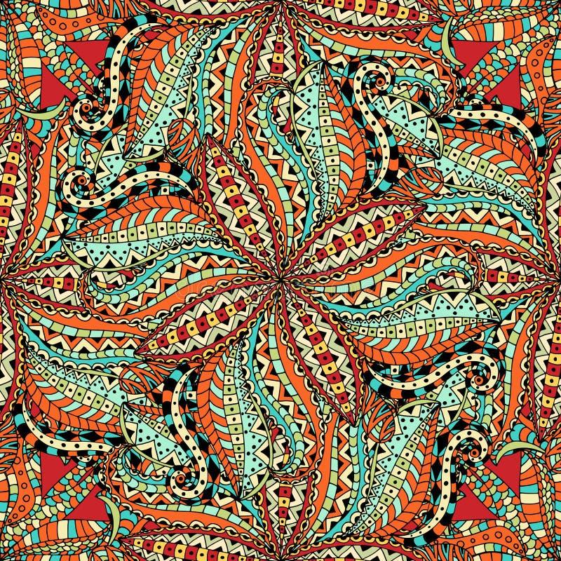 Inconsútil floral ilustración del vector