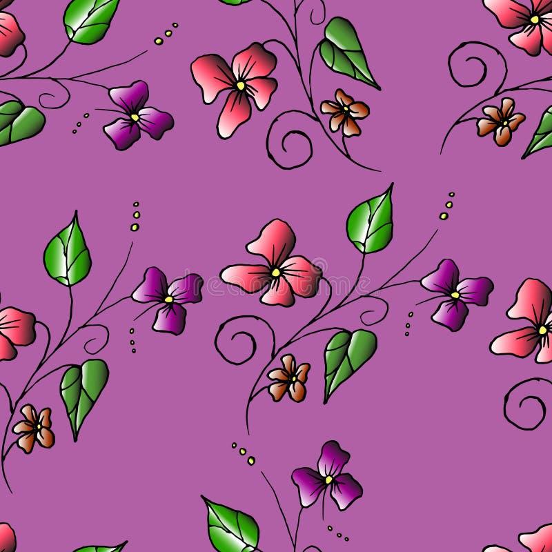Inconsútil floral fotos de archivo libres de regalías