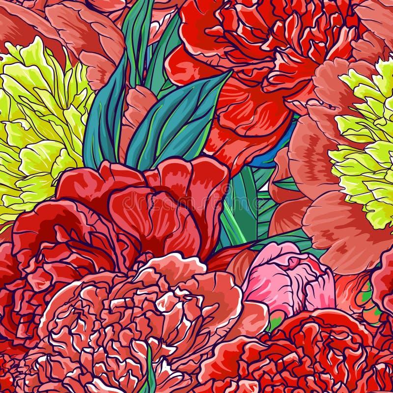 Inconsútil floral de la vendimia libre illustration