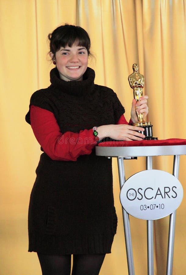 Incontri il Oscars immagini stock