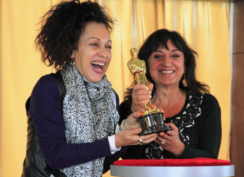 Incontri il Oscars fotografie stock libere da diritti
