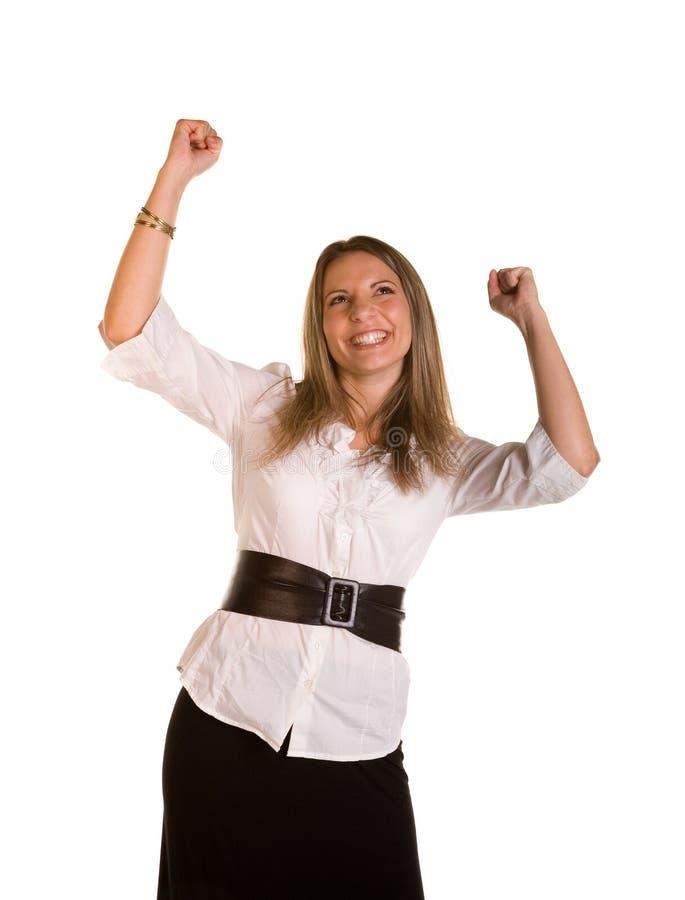 Incoraggiare femminile immagine stock libera da diritti
