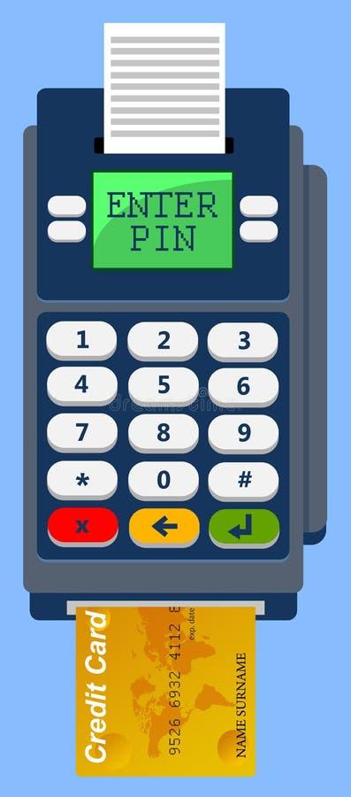 Incorpore el PIN ilustración del vector