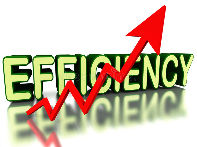 Increase Efficiency Stock Photography