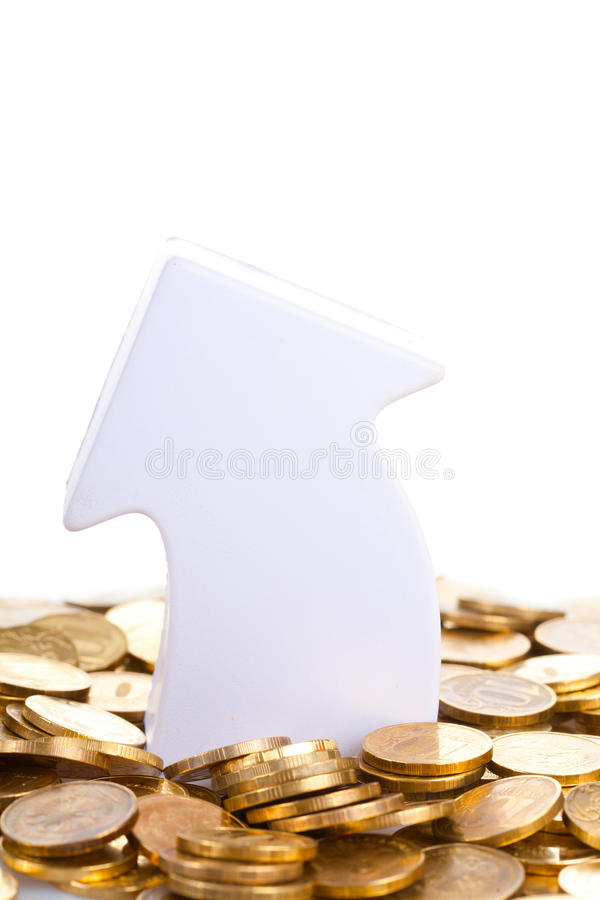 Increase In Financial Wealth Royalty Free Stock Photo