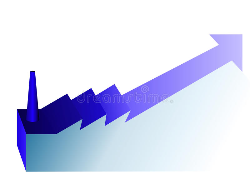 Download Increase industry stock illustration. Image of increase - 21613021
