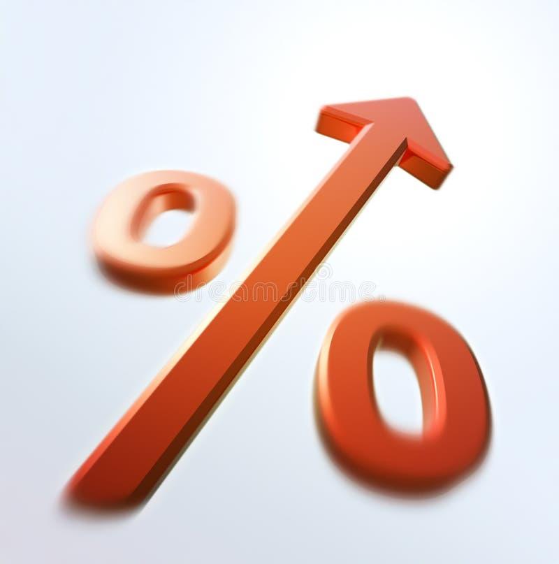 increase percent repid иллюстрация вектора