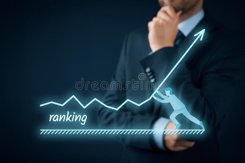 Increase ranking stock images