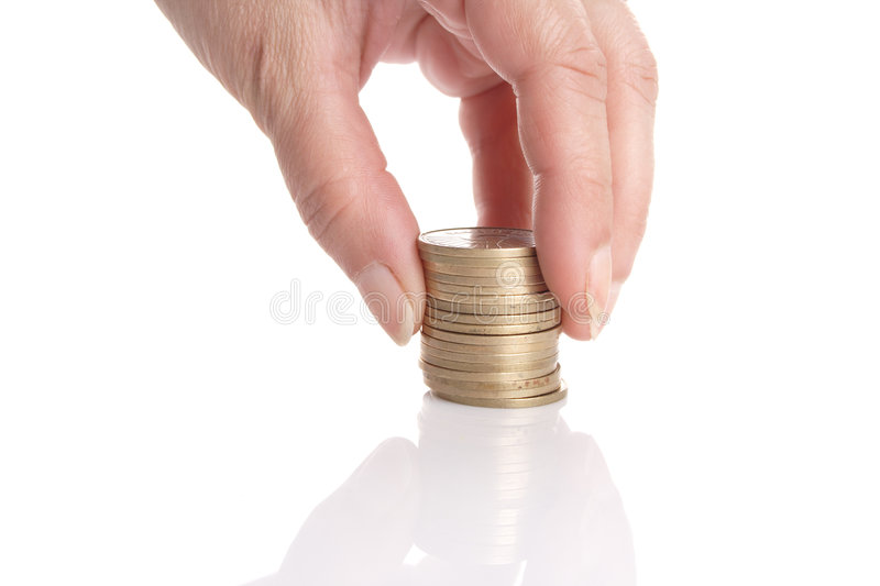 Increase your savings! stock photography