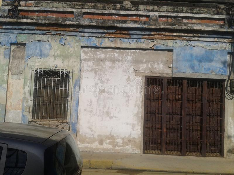 City of Valencia venezuela stock image