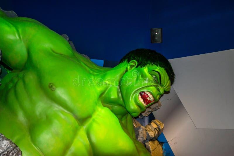 Incredible Hulk stock photography