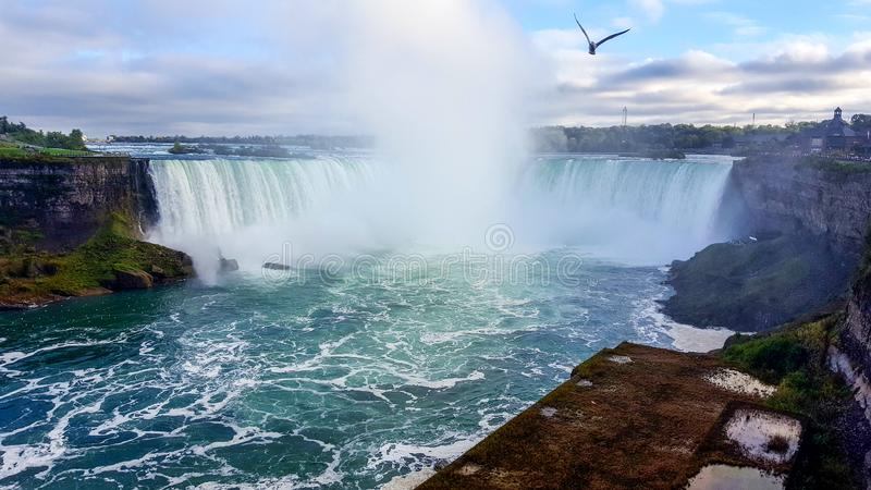Waterfalls Landscapes Niagara Falls , Toronto stock photo