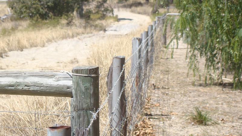 Amazing Image of Rustic Fence royalty free stock photo