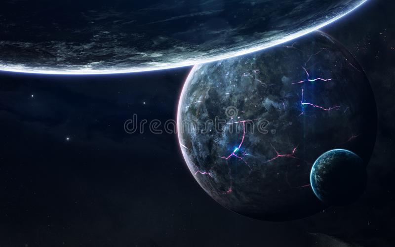 Download Deep Space Beauty Planets Stars And Galaxies In Endless Universe Elements Of