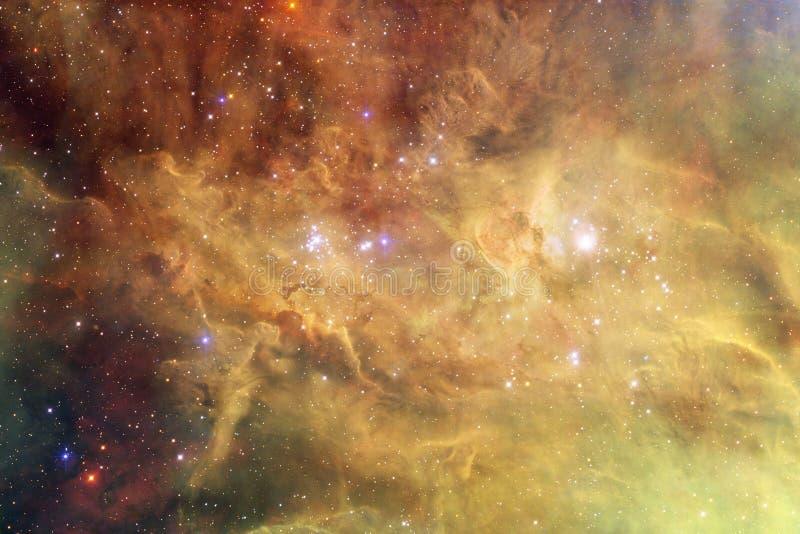Incredibly härlig galax många ljusår långt från jorden royaltyfri foto
