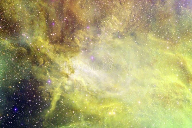 Incredibly härlig galax många ljusår långt från jorden arkivfoton