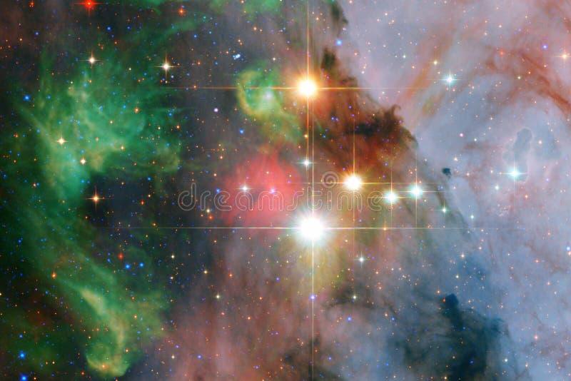 Incredibly härlig galax någonstans i djupt utrymme Sciencetapet arkivfoton